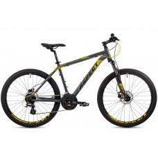 """Велосипед Aspect NICKEL 26"""" (18"""", Серо-желтый)"""