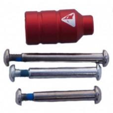 Пеги Fox Pro короткая (модель А) красная