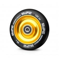 Колесо HIPE Solid 100 мм золотой/черный