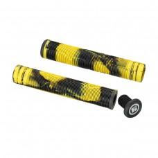 Грипсы HIPE H05 Duo 170 мм. Черный/Желтый