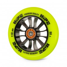 Колесо HIPE H01 110 мм. Black/Yellow