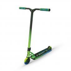 Самокат трюковой MGP VX9 Team Scooter Ethanol, зелено-голубой