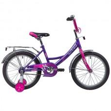 """Велосипед Novatrack Vector 18"""" лиловый"""
