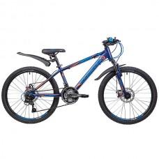 """Велосипед Novatrack LUMEN 24"""" синий"""