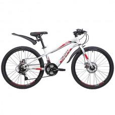 "Велосипед Novatrack PRIME 24"" белый"