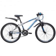 """Велосипед Novatrack LUMEN 24"""" серебристый"""