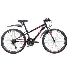 """Велосипед Novatrack PRIME 24"""" черный"""