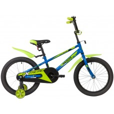 "Велосипед Novatrack EXTREME 18"" синий 2020"