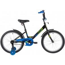 """Велосипед Novatrack TWIST 20"""" черный 2020"""