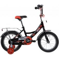 """Велосипед Novatrack Urban 14"""" черный 2020"""