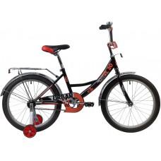 """Велосипед Novatrack Urban 20"""" черный 2020"""