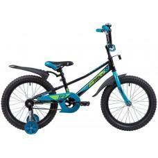 """Велосипед Novatrack VALIANT 18"""" черный"""