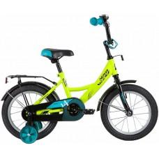 """Велосипед Novatrack Vector 14"""" салатовый"""