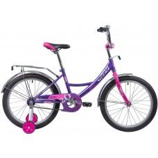 """Велосипед Novatrack Vector 20"""" лиловый"""
