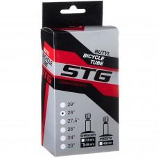 """Камера велосипедная STG, бутил, 28""""x1.75/1,95, автониппель, 48мм,"""