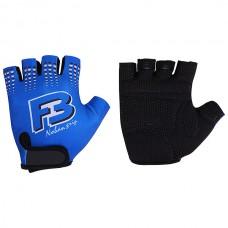 Перчатки синие размер L