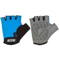 Перчатки детские синие размер S