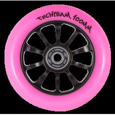 Колесо Tech Team 100 мм. Winner Pink