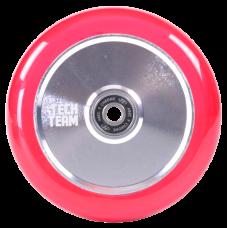 Колесо Tech Team 110 мм. TH Transparent Pink