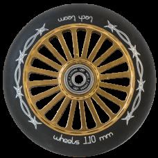 Колесо TechTeam Brock 110 мм, e-plated Brown