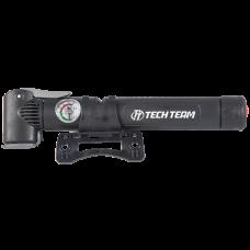 Насос ручной Tech Team 27х275 мм. алюминиевый с манометром ZF-021B