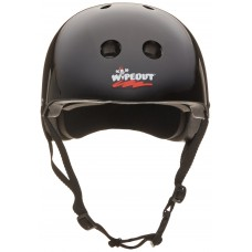 Шлем Wipeout Black (L 8+) с фломастерами черный
