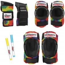 Защита Wipeout Tie Dye (M 5+) - разноцветный