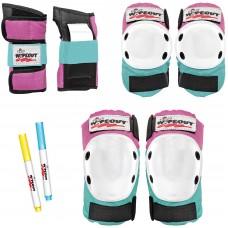 Защита Wipeout  Pink-Teal (M 5+) - розово-бирюзовый