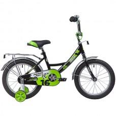 """Велосипед Novatrack Urban 16"""" черный"""
