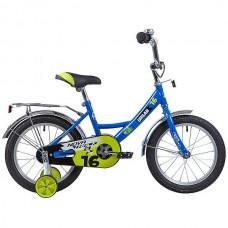 "Велосипед Novatrack Urban 16"" синий"