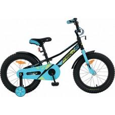 """Велосипед Novatrack VALIANT 16"""" черный"""