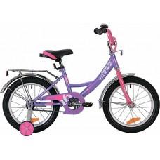 """Велосипед Novatrack Vector 16"""" лиловый"""