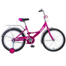 """Велосипед Novatrack Vector 20"""" фиолетовый"""
