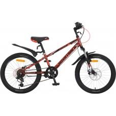 """Велосипед Novatrack Extreme 20"""" коричневый"""
