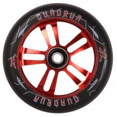 Колесо AO Quadrum 10-Star 100 mm Black/Red