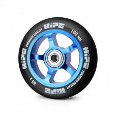 Колесо HIPE 5Spoke 100 мм синий/черный