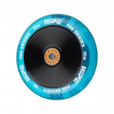 Колесо HIPE H05 110мм прозрачный/голубой
