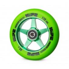 Колесо HIPE H09 110 мм. green