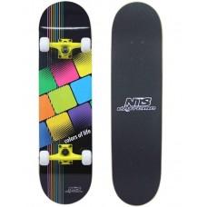 Скейтборд Nils Color of Life