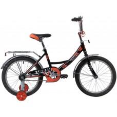 """Велосипед Novatrack Urban 18"""" черный"""