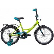 """Велосипед Novatrack Vector 18"""" салатовый"""