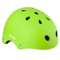 Шлем STG , модель MTV12, зеленый, размер L(58-61) cm