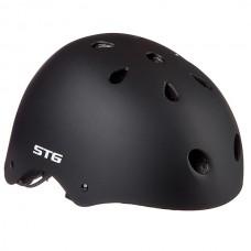 Шлем STG , модель MTV12, черный, размер M(55-58)cm