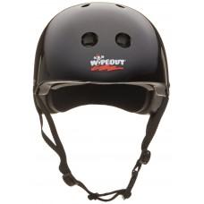 Шлем Wipeout Black (M 5+) с фломастерами черный